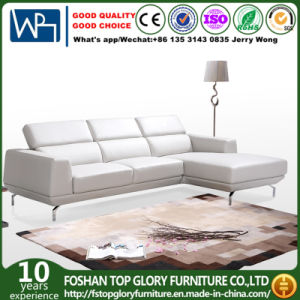 Modern Simple L-Shape Leather Sofa for Living Room (TG-9918) pictures & photos