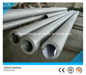 ASTM Thick Round Seamless Stainless Steel Pipe pictures & photos