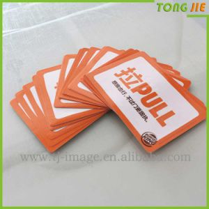 Advertising Logo Wall Label PVC Vinyl Sticker pictures & photos