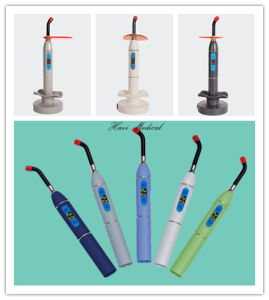 Dental Product Rainbow Wirelss Plastic Body LED Curing Light pictures & photos