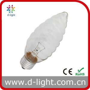 Whorl Twist F50 Candle Bulb pictures & photos