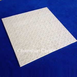 High Alumina Ceramic Hex Tile Mat as Ceramic Pulley Lagging pictures & photos