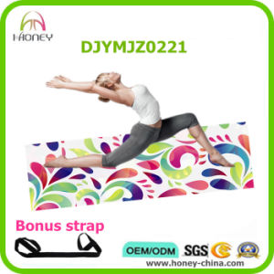 2016 New Arrival Beautiful Full Color Digital Printed Yoga Mat Ideal for Hot Yoga Bikram Pilate pictures & photos