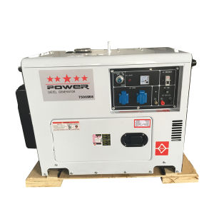 5kw Silent Type Diesel Generator 6500ds pictures & photos