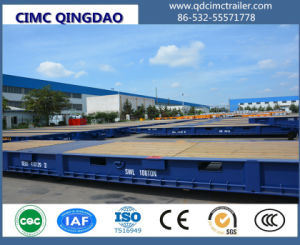 Cimc Port Inside Rolll Trailer 40feet Truck Chassis pictures & photos