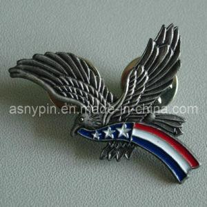 Antique Nickel Eagle Pin Badge (ASNY-eagle pin-IX-005) pictures & photos