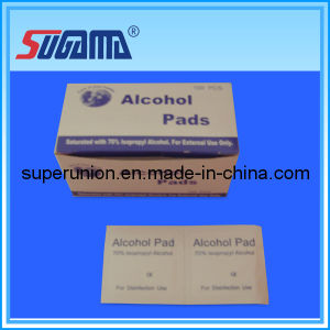 Medical Alcohol Pads for Single Use pictures & photos