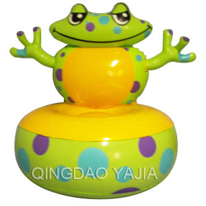 Pvc Inflatable Children Sofa-Frog(1011)