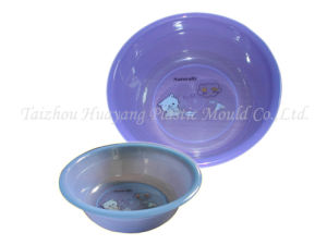 Plastic Wash Basin Injection Mould (HY027) pictures & photos