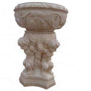Angel Sculpture Carving Urn Pot pictures & photos