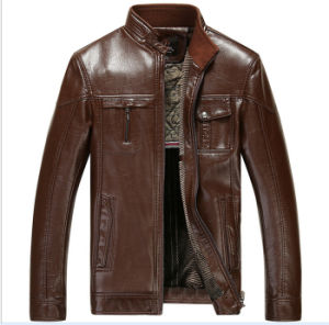 Men′s Leather Jackets pictures & photos