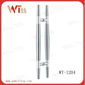 Stainless Steel Glass Door Handles (WT-1204) pictures & photos