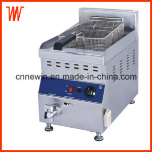 20L Countertop Gas Fryer for Potato Chips pictures & photos