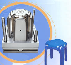 Plastic Chair Mould (without arm) pictures & photos
