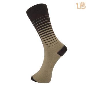 Men′s Classic Striped Happy Sock pictures & photos