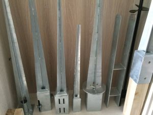 Hot Dipped Galvanized Earth Anchor pictures & photos