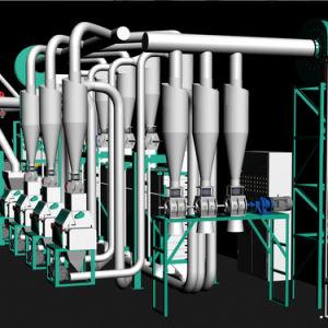 Kenya 30t Maize Flour Milling Machine Posho Mill Equipment pictures & photos