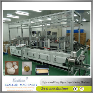 Safety Open Fruit Juice Drum Cap Making Machine pictures & photos