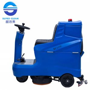 Sc1350 Commerial Dual Brush Low-Noise Ride-on Scrubber (floor Cleaning Machine) pictures & photos