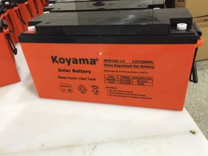 Longest Lasting Warranty 12V150ah Battery, LiFePO4 Solar for Solar Power System pictures & photos