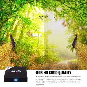 2017 New Android TV Box Mx8 Amlogic S905 Quad-Core Android 6.0 2+16GB 4K*2* Video pictures & photos