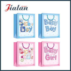 Logo Printed Customize Cheap Packaging Paper Gift Bag pictures & photos