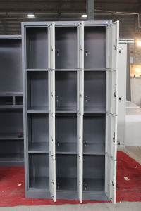 Metal Furniture 4 Tiers School Gym Locker 12 Doors storage Clothing Steel Locker pictures & photos
