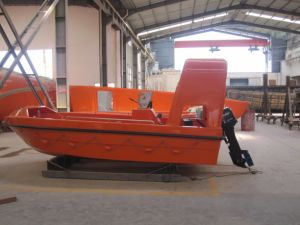 4.5m 6 Persons Rescue Boat with Outboard Engine pictures & photos