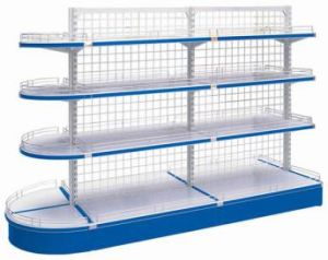 Wire Mesh Shelving pictures & photos