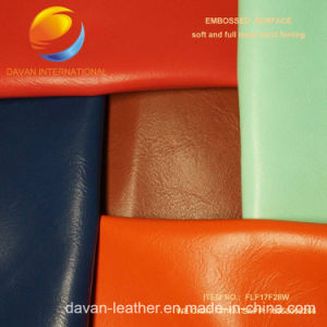 Hot Selling PU Leather with Embossed Surface for Bag Flf17f28W pictures & photos