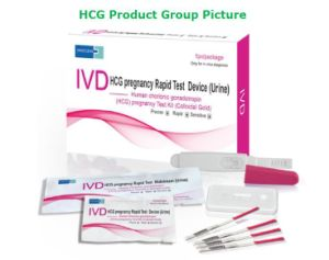 One Step HCG Early Pregnancy Test Midstream for Home Use pictures & photos