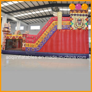 African Totem Inflatable Theme Park Inflatable Playland Fun (AQ01813) pictures & photos