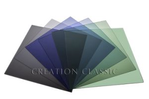 4-12mm Dark Blue Color Float Glass for Decorative Glass/Building Glass pictures & photos