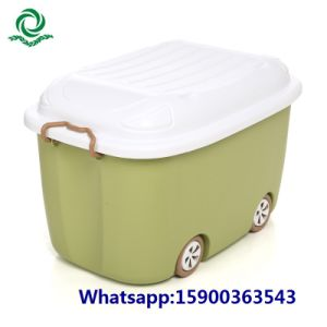 Plastic Cartoon Storage Container Bin From Tesco/Carrefour Supplier pictures & photos