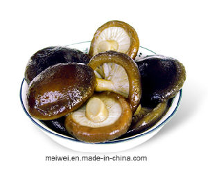 Health Food Canned Shiitake Mushrooms From China pictures & photos