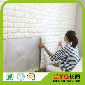 70X77cm PE Foam 3D Wall Stickers safety Home Decor Wallpaper DIY Wall Decor Brick Living Room Kids Bedroom Decorative Sticker pictures & photos