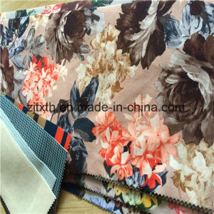 2016 Hot Sell Print Velvet Fabric pictures & photos