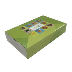 Triangle Sandwich Paper Packing Box with Clear Window pictures & photos