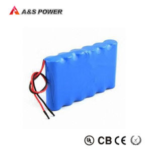 11.1V 2200mAh 18650 Lithium Ion Rechargeable Battery Pack for Monitor pictures & photos