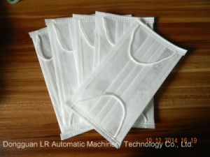 Lr02b Nonwoven Dust Cover Face Mask Making Machine pictures & photos