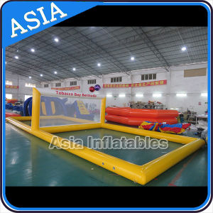 Float Inflatable Water Volleyball Court, Polo Ball Gate, Water Ball Goal pictures & photos