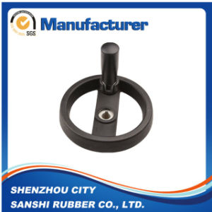 Black Bakelite Solid Handwheel with Folding Handle pictures & photos