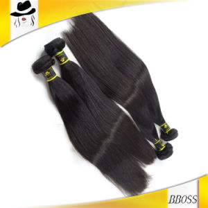 Black Color Brazilian Human Hair Pieces pictures & photos