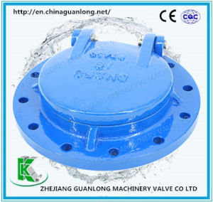 Tide Proof Swing Non Return Bottom Flap Valve (GLH44XT-6) pictures & photos