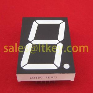 1.5 Inch Single Digit 7 Segment LED Display pictures & photos