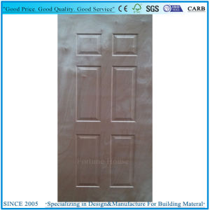 3.6mm Moulded Door Skin Plywood 6 Panel with Okume Veneer pictures & photos
