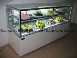 2 Layers Upright Cake Refrigerator Cake Showcase Chiller with Ce pictures & photos