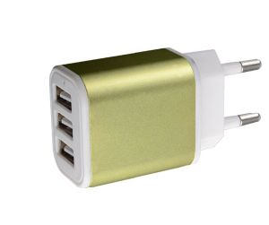 Best Selling 3 Ports Mobile Phone USB Wall Charger for Samsung Smartphones Charger pictures & photos