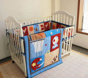 Soft Bedding Set Sports Design 3PCS Set for Baby Boy pictures & photos