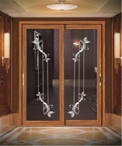 2017 Decorative Fashion Aluminium Sliding Door for Bedroom pictures & photos